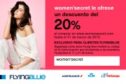 Win 2 free flights with Women'Secret and Air Europa