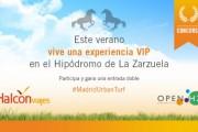 Gana una experiencia VIP en el Hipódromo