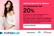 Gana 2 vuelos gratis con el sorteo de Women'Secret
